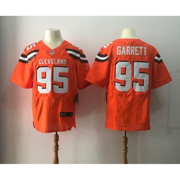 newest 65482 24071 Cleveland Browns Myles Garrett Jersey